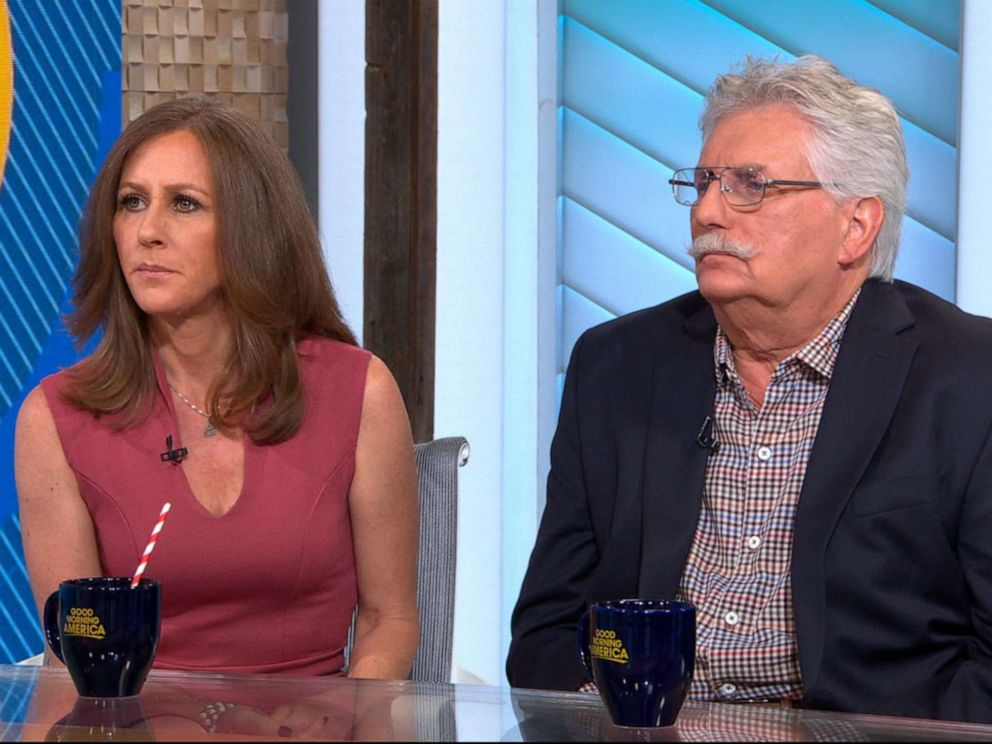 PHOTO: Kim Goldman and Fred Goldman appear on Good Morning America, June 12, 2019.