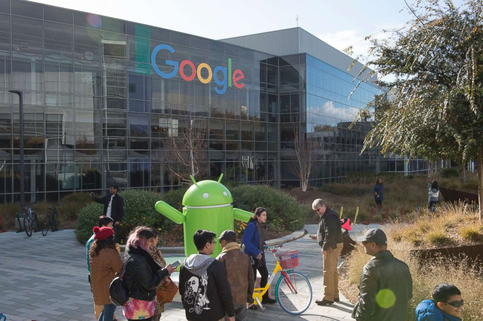 PHOTO: Google headquarters in Mountain View, Calif., Dec. 31, 2016.