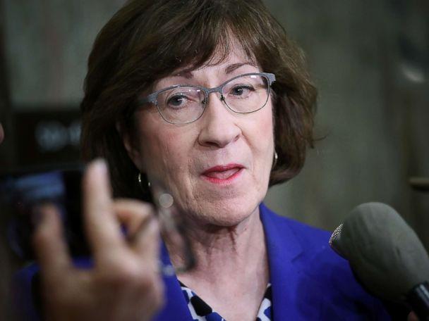 Suspicious letter sent to Republican Sen. Susan Collins' home