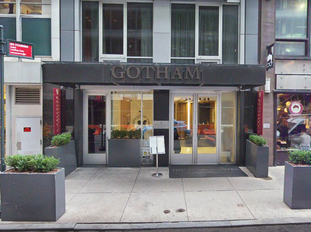 PHOTO: The Gotham Hotel in New York is pictured in a Google Street View image taken in November 2017.