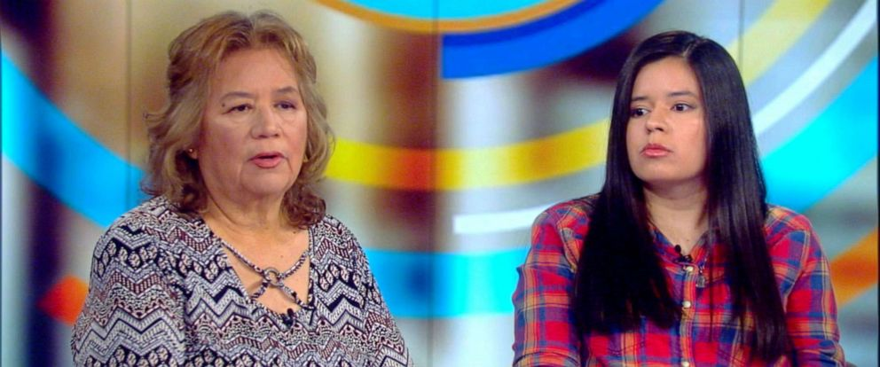 "PHOTO: Kristene Chapa, left, accompanied by her mother Grace Chapa, opened up about a 2012 attack in Texas that killed her girlfriend on ""The View,"" Oct. 29, 2019."