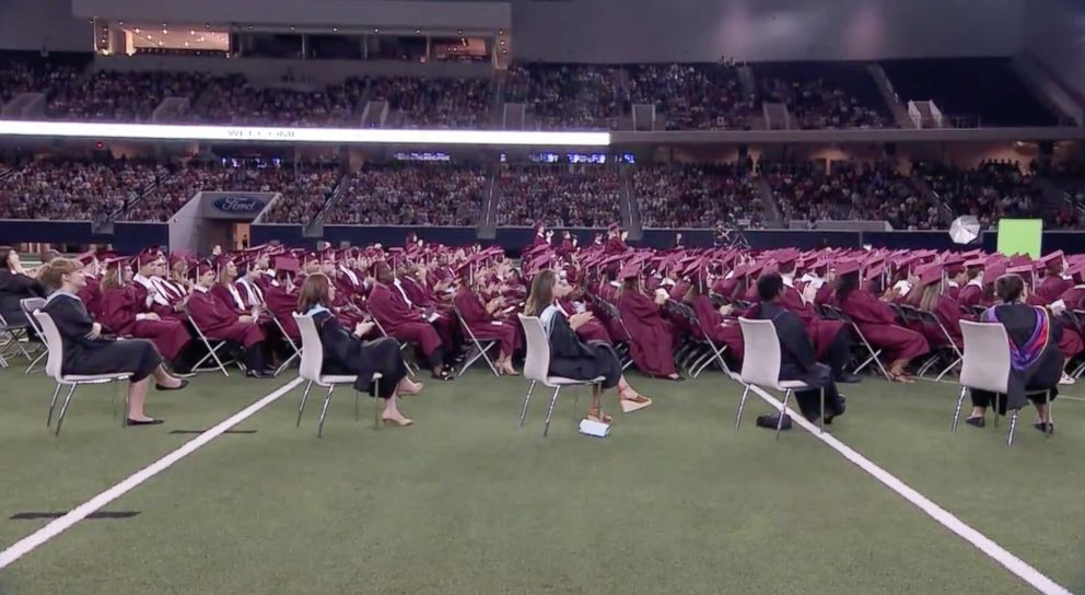 Plano student with autism gives 'unexpected' speech