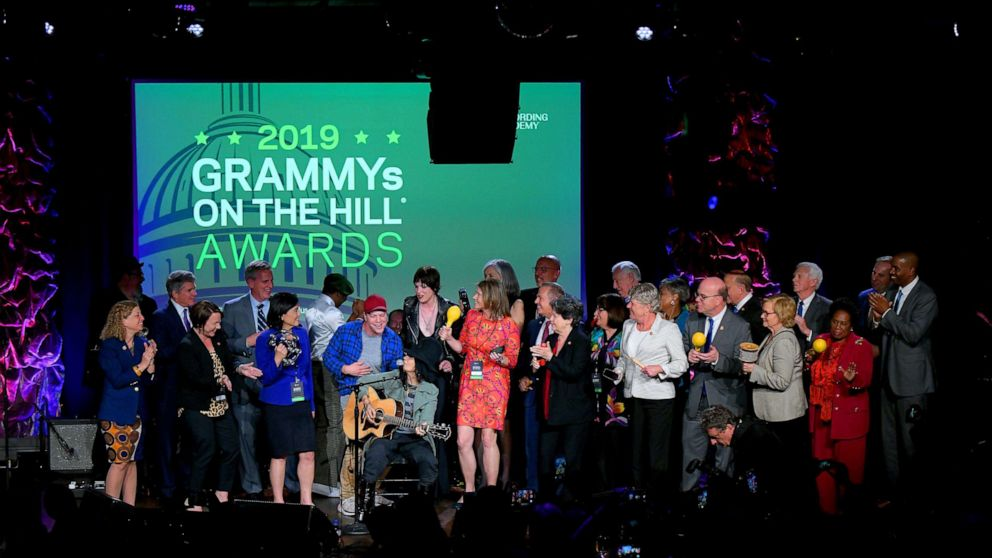 Yolanda Adams, Kristin Chenoweth honored for 'advocating' from the heart at 2019 Grammy's on the Hill