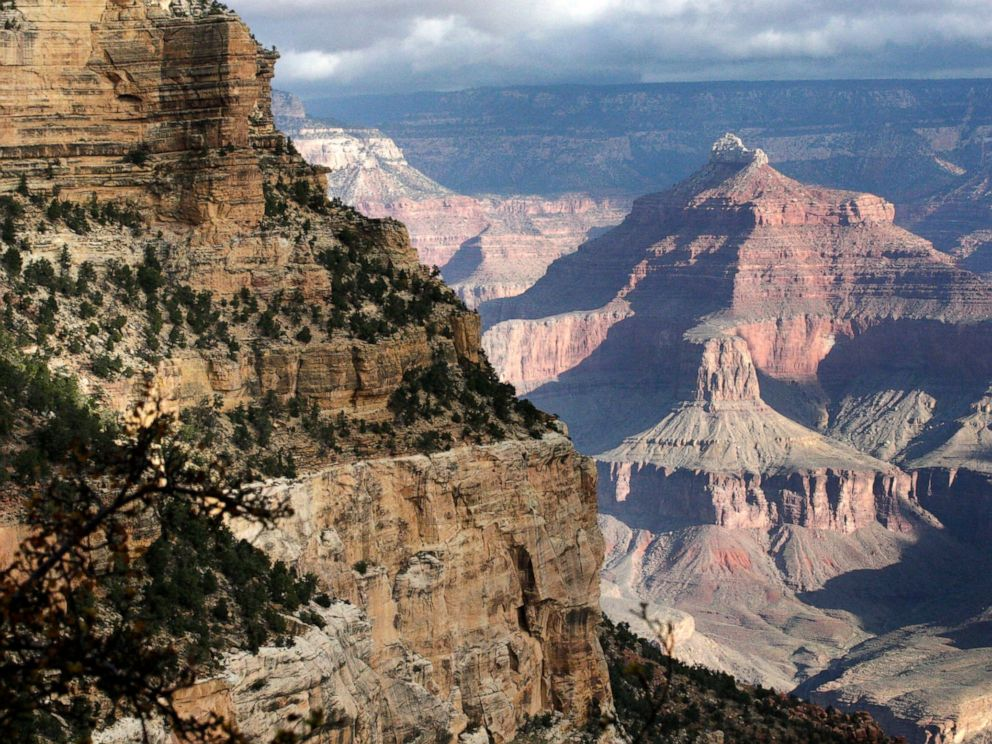 PHOTO: This file shows on October 22, 2012 a view from the southern edge of the Grand Canyon National Park in Arizona.