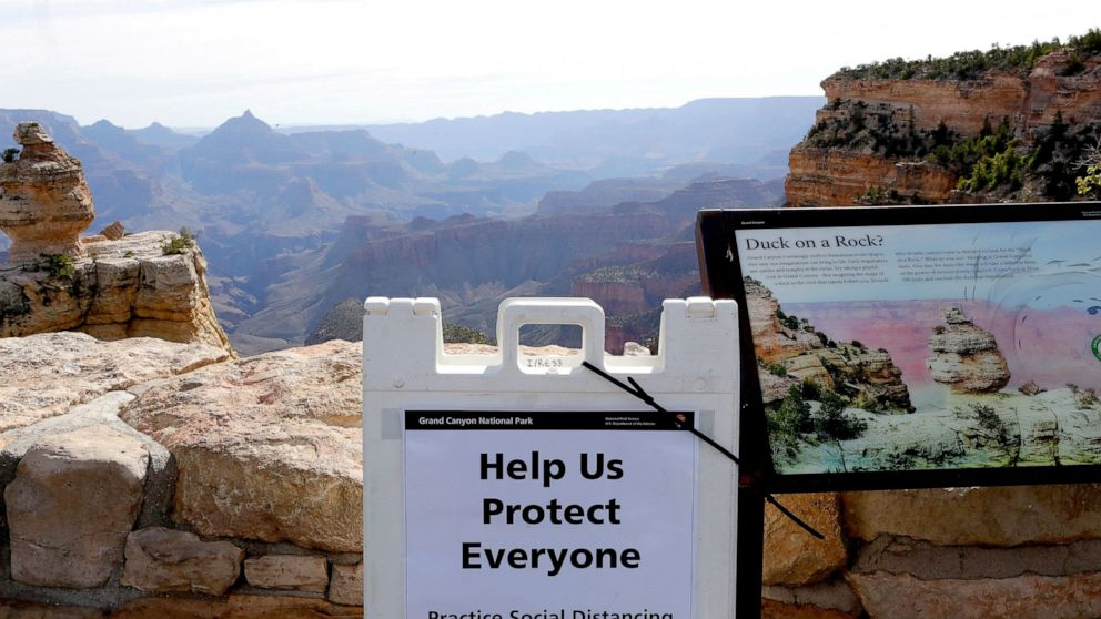 Woman dies falling into Grand Canyon while taking photos