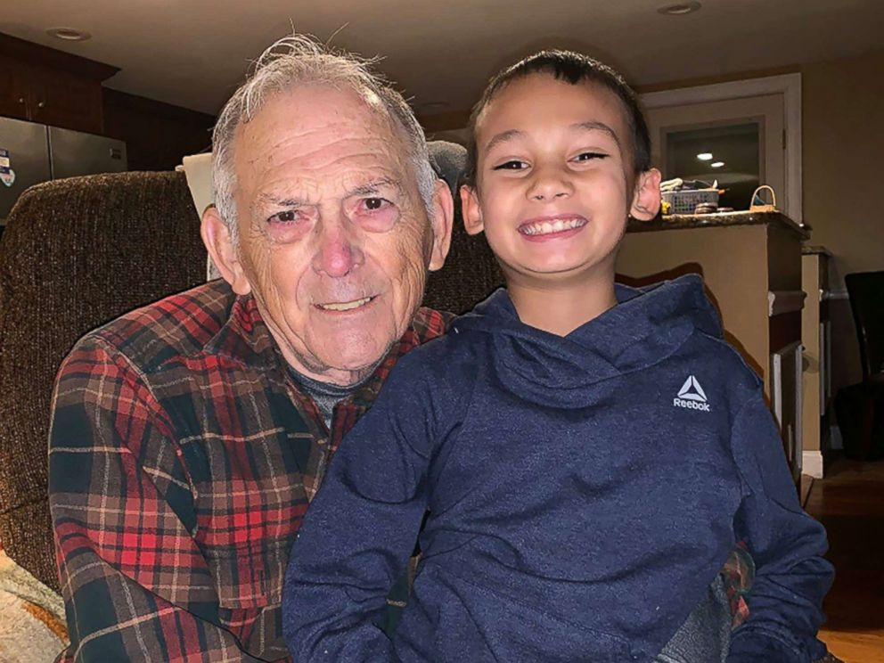 PHOTO: Kazin Crisman is pictured with his grandfather in this undated photo released by Somerset Police Department.