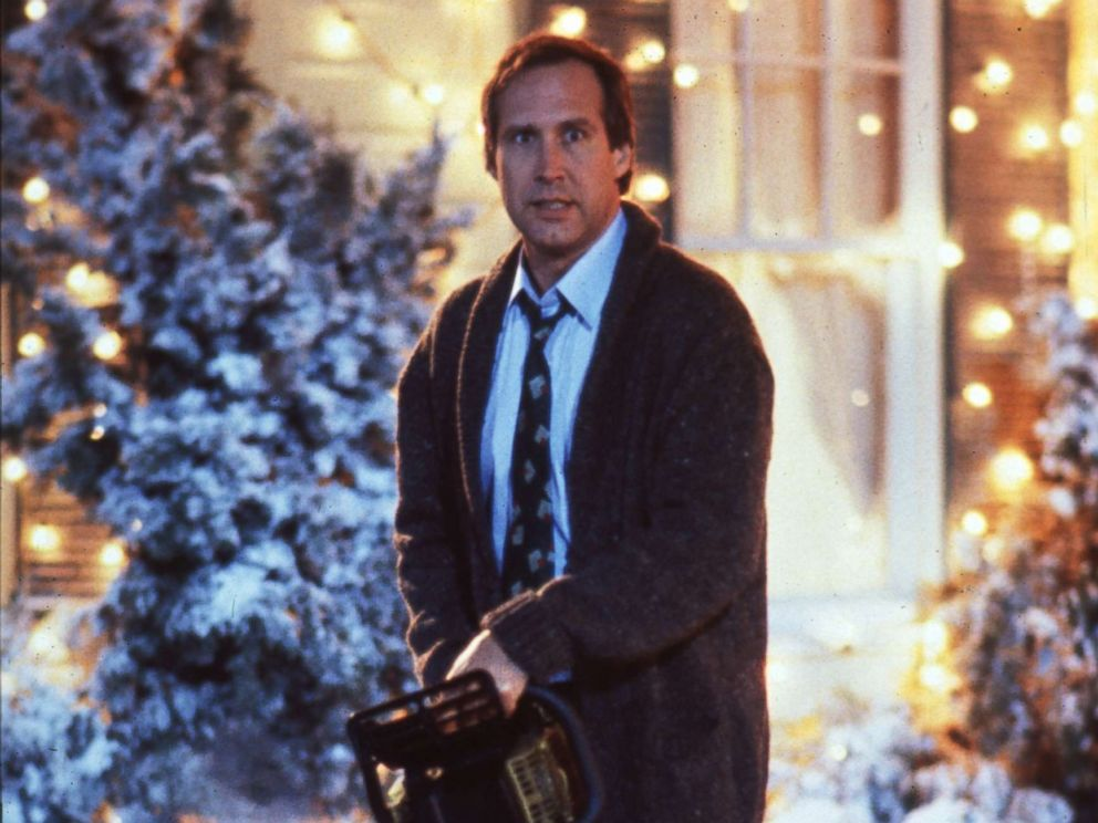 PHOTO: Chevy Chase as Clark Griswold in National Lampoons Christmas Vacation, 1989.