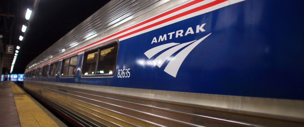 PHOTO: An Amtrak train is pictured in Philadelphia, Pennsylvania.