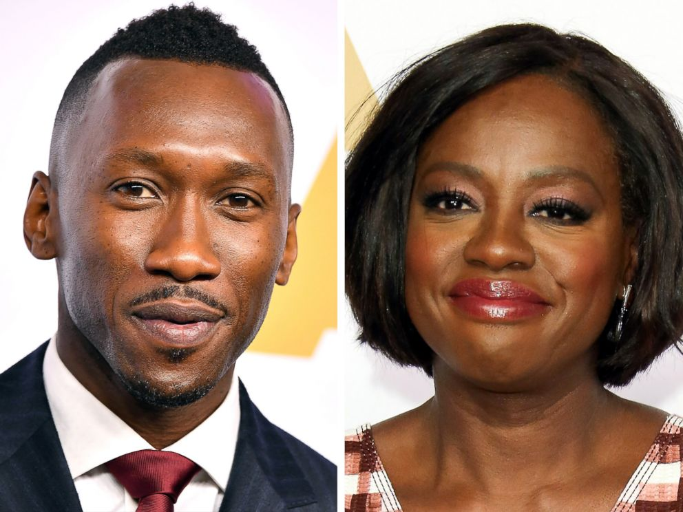 PHOTO: Mahershala Ali and Viola Davis both attended the 89th Annual Academy Awards Nominee Luncheon at The Beverly Hilton Hotel on Feb. 6, 2017 in Beverly Hills, Calif.