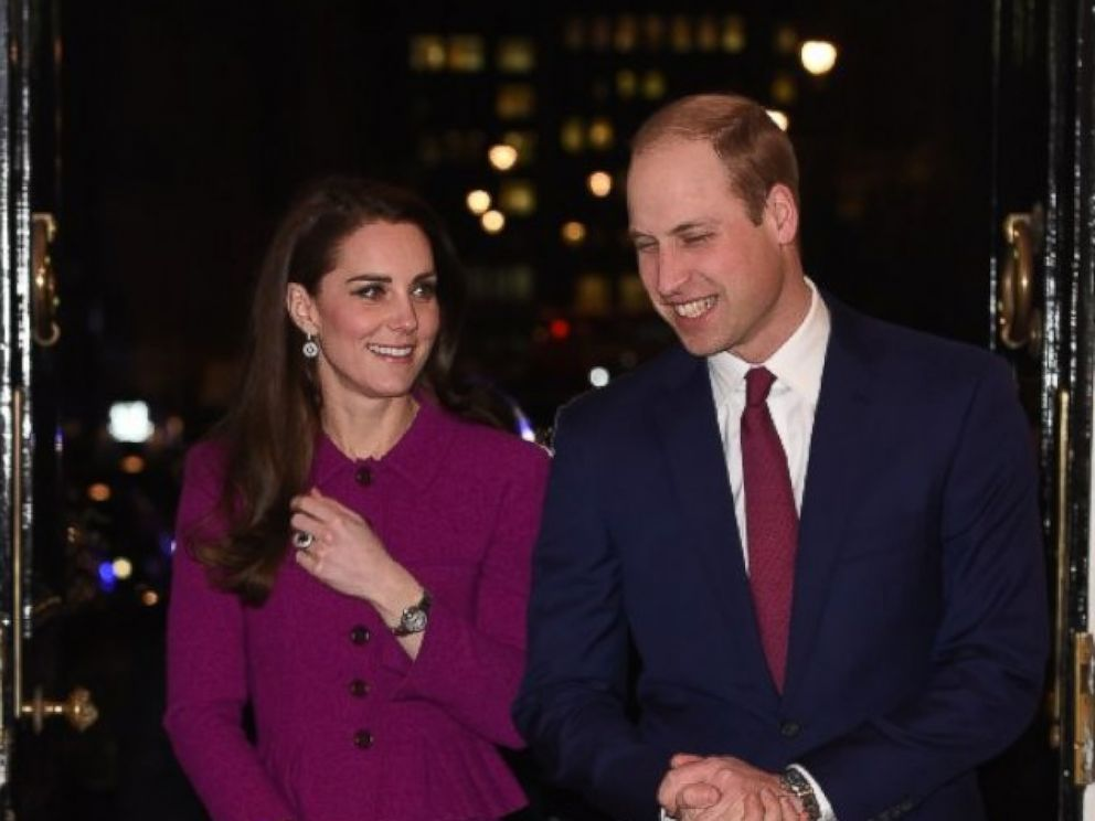 PHOTO: Catherine, Duchess of Cambridge and Prince William, Duke of Cambridge attend Guild of Health Writers Conference with Heads Together at Chandos House on Feb. 6, 2017 in London.