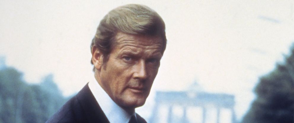 "PHOTO: Actor Roger Moore on the set of ""Octopussy""."