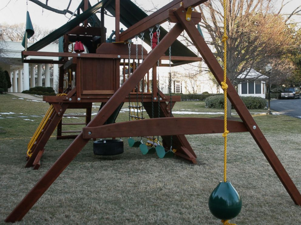 Daughters White House Swing Set