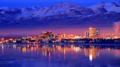 PHOTO: A view of the Anchorage, Ala. downtown skyline.