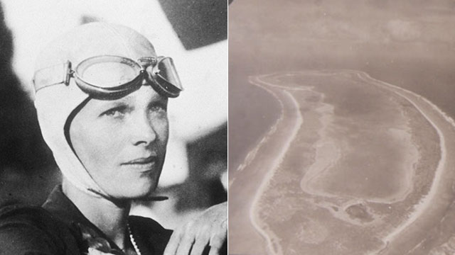 PHOTO: A museum in New Zealand has found photos of the island Earhart allegedly crashed on that were taken around the time she crashed.