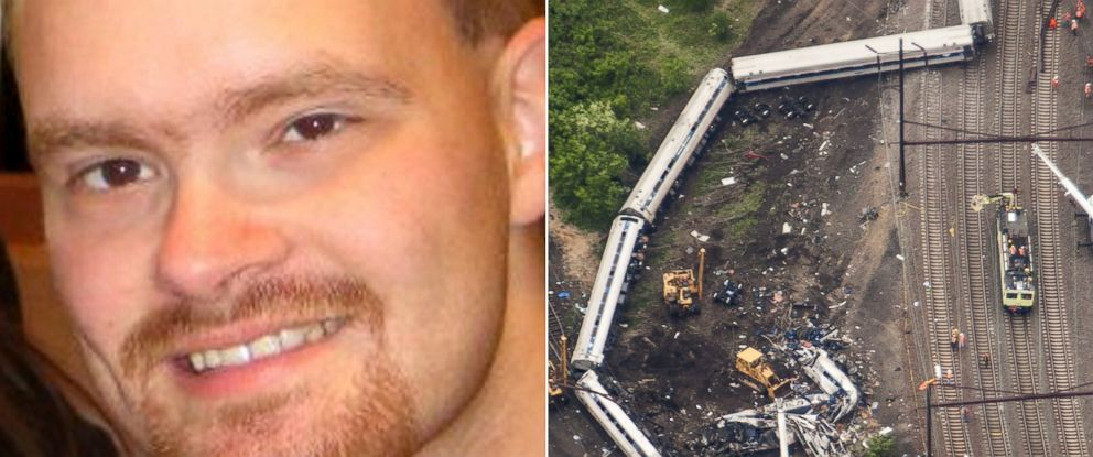 PHOTO: The engineer driving the Amtrak train that derailed Tuesday night has been identified as 32-year-old Brandon Bostian.