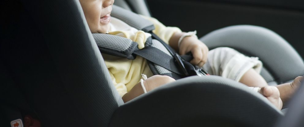 PHOTO: A child is seen in a carseat in this undated stock photo.