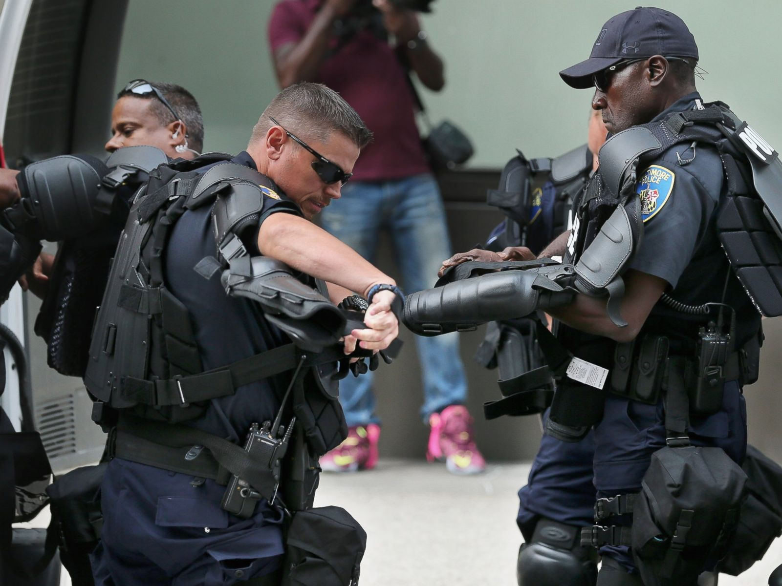 93583e47 Baltimore Police Gear Up as Closing Arguments Start in Freddie Gray ...