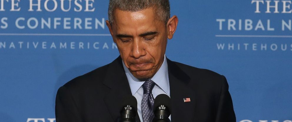 PHOTO: U.S. President Barack Obama speaks on Dec. 3, 2014 in Washington, DC.