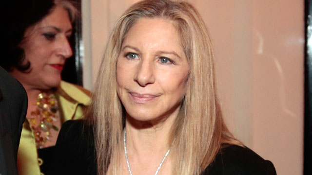PHOTO: Barbra Streisand attends the Bloomberg Vanity Fair White House Correspondents' Association (WHCA) dinner afterparty in Washington, April 27, 2013.