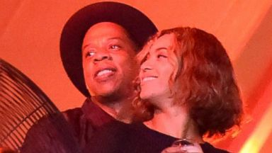 PHOTO: Beyonce Knowles and Jay-Z attend a music festival on Aug. 31, 2014 in Los Angeles, Calif.