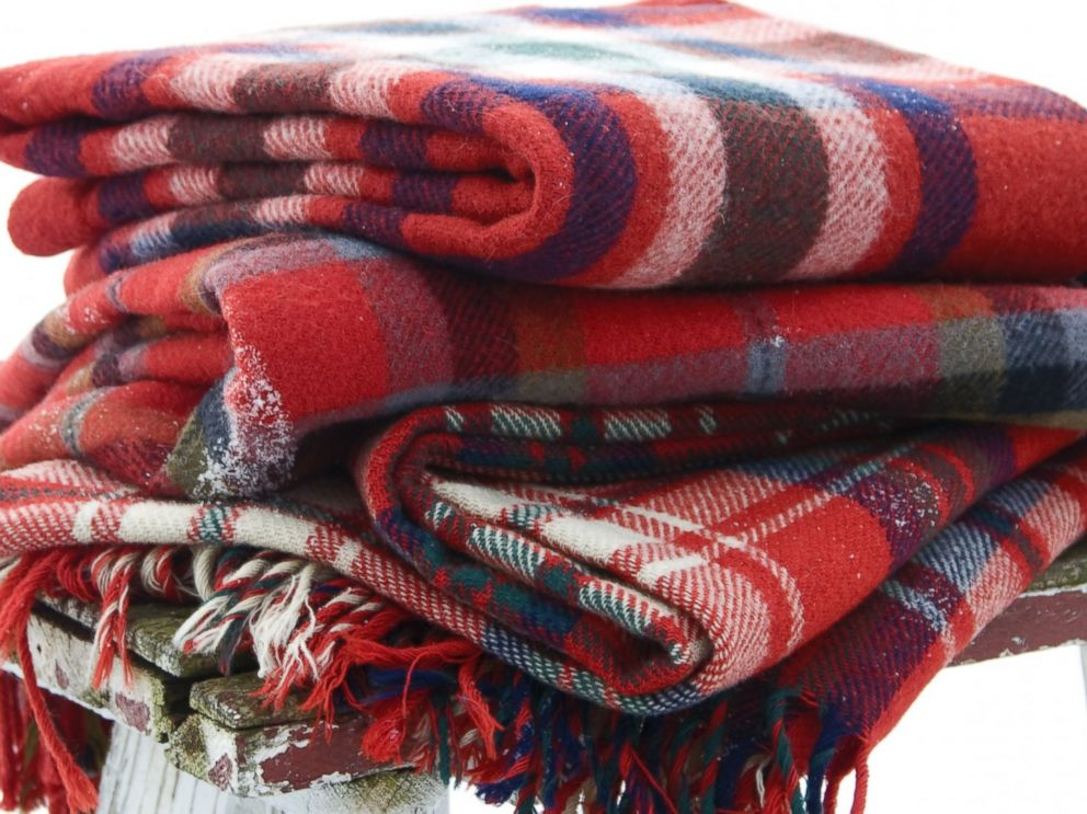 PHOTO: Always keep your mouth covered with a warm scarf when youre outside in the snow.