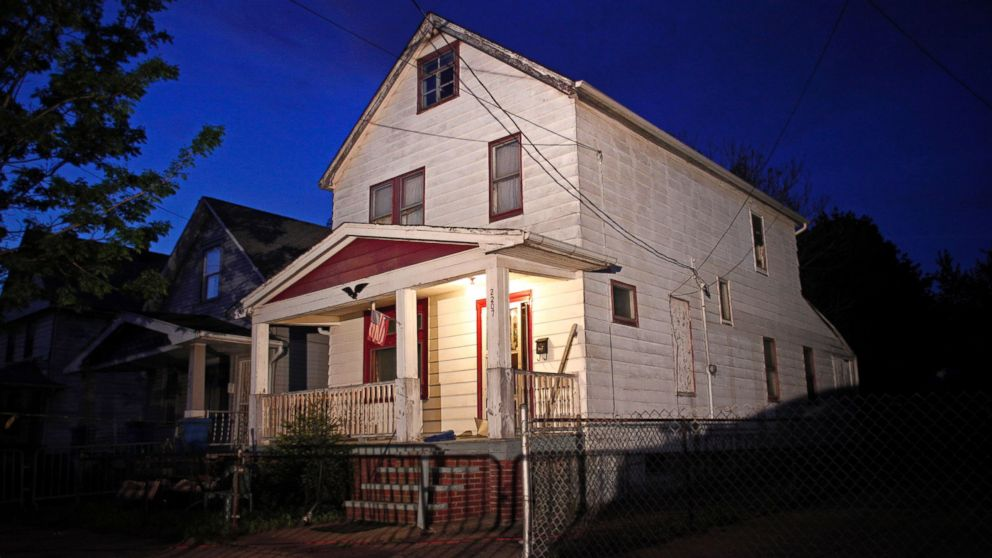 In the house Gina DeJesus, Amanda Berry and Michelle Knight were held captive at Ariel Castro's Cleveland home pictured here.