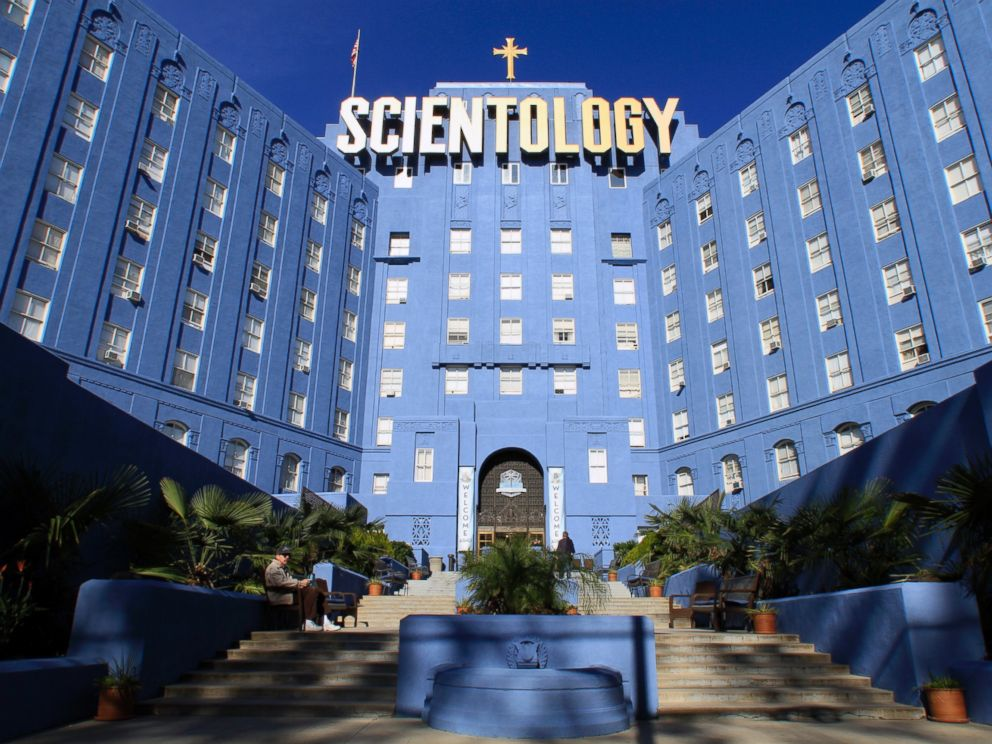 PHOTO: The Church of Scientology building on Fountain Avenue in Los Angeles.
