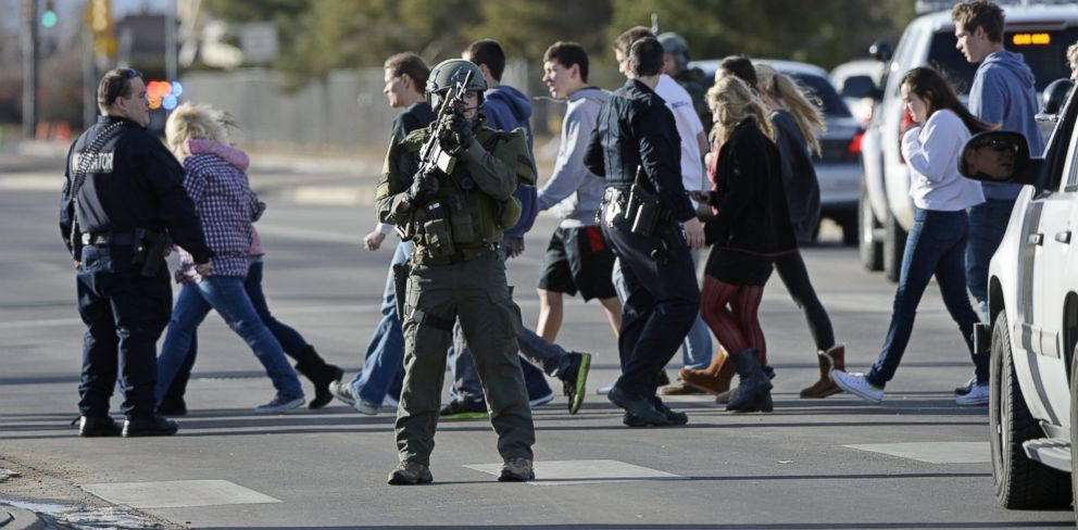 Colorado School Shooting Suspect May Have Been Out For Revenge, Police Say