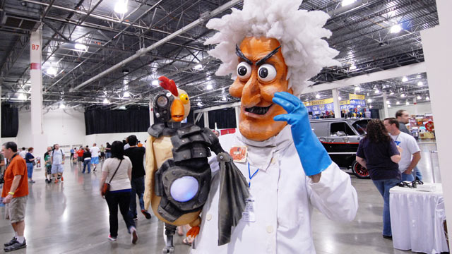 PHOTO: The Motor City Comic Con at the Suburban Collection Showplace on May 20, 2012 in Novi, Michigan.