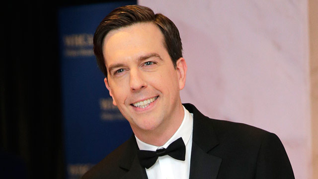 PHOTO: Actor Ed Helms arrives for the White House Correspondents' Association (WHCA) dinner in Washington, on Saturday, April 27, 2013.