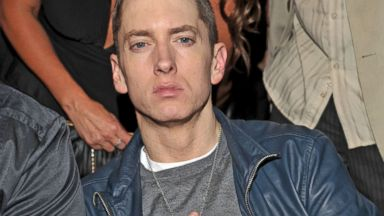 PHOTO: Rapper Eminem attends The 53rd Annual GRAMMY