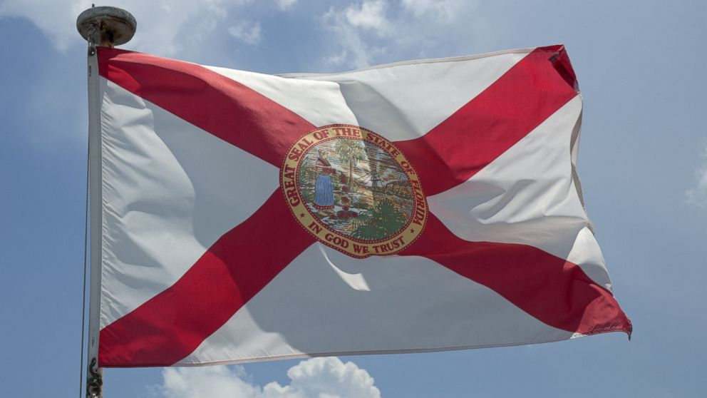 The Florida State flag is seen in this undated file photo.