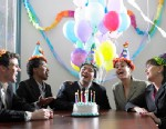 """PHOTO: A lawsuit has been filed over the ownership of the song """"Happy Birthday."""""""