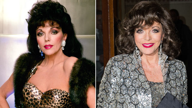 "PHOTO: Joan Collins in ""Dynasty."""