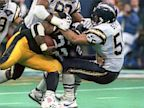 PHOTO: Junior Seau stops John Williams during AFC Championship game