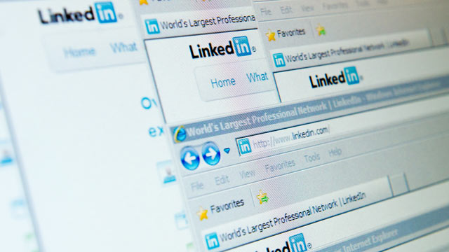 PHOTO: 6.5 million encrypted LinkedIn passwords have leaked after an apparent hack.