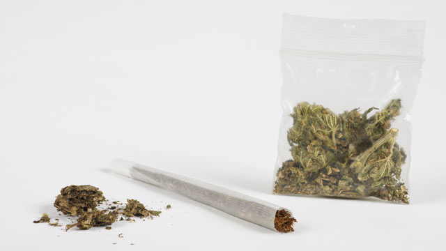 PHOTO: An 11 year old boy texted a picture of his mother and stepfathers alleged marijuana stash to authorities.