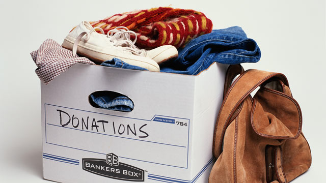 PHOTO: A great day way to spend Memorial Day is to Donate Clothing or food to your local veterans Association.