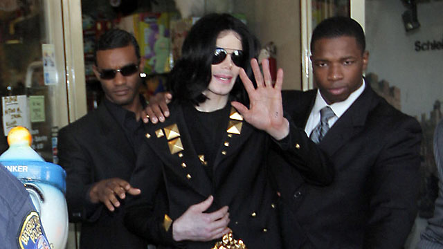 PHOTO: Michael Jackson is seen exiting Toms Toys in this May 15, 2009 file photo in Beverly Hills, California.