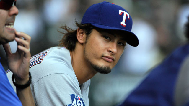 PHOTO: Yu Darvish of the Texas Rangers was named to the American League All Star Team.