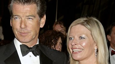 PHOTO: Pierce and Charlotte Brosnan at BAFTA after party