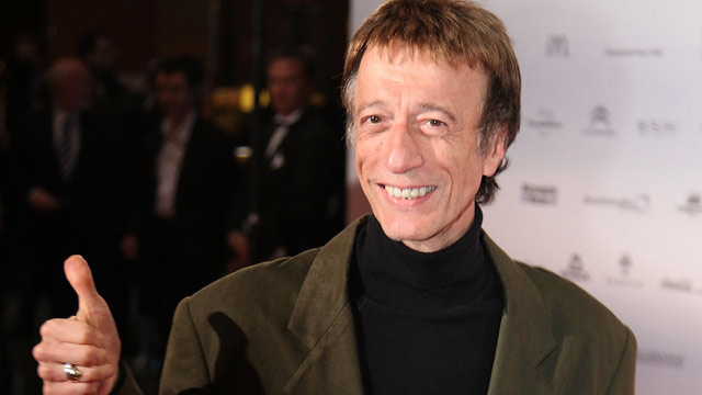 PHOTO: Robin Gibb attends the German Sustainability Award at Maritim Hotel on November 26, 2010 in Duesseldorf, Germany.