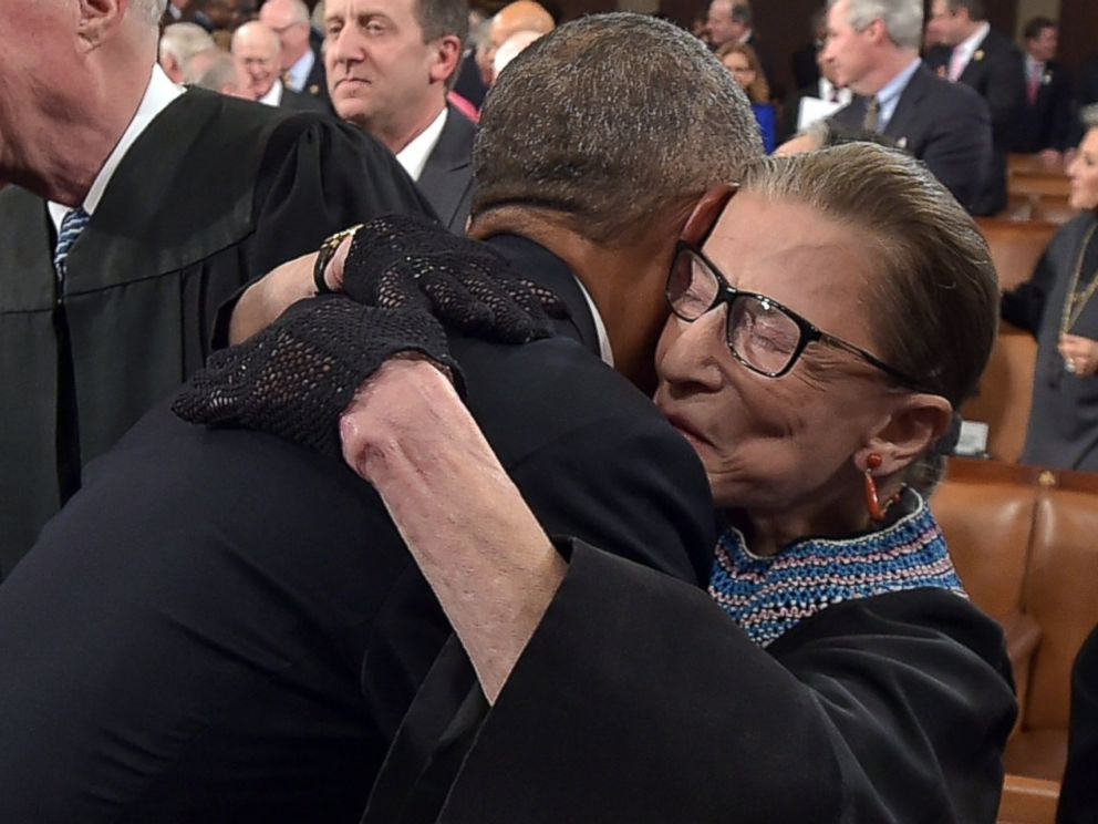 Justice Ginsburg Earns Her 'Notorious' Nickname With Black Gloves - ABC News