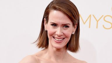PHOTO: Actress Sarah Paulson attends the 66th Annual Primetime Emmy Awards held at Nokia Theatre L.A. Live on August 25, 2014 in Los Angeles, Calif.
