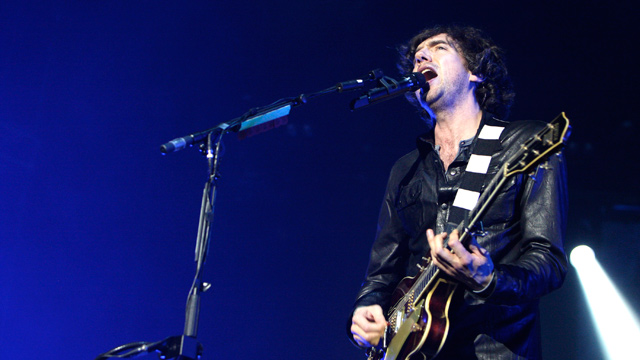 PHOTO: Gary Lightbody of Snow Patrol performs live at Ahoy on March 1, 2012 in Rotterdam, Netherlands.