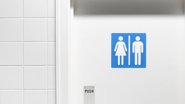 PHOTO: Grant High School in Portland, Ore. has created unisex bathrooms for its transgender students.