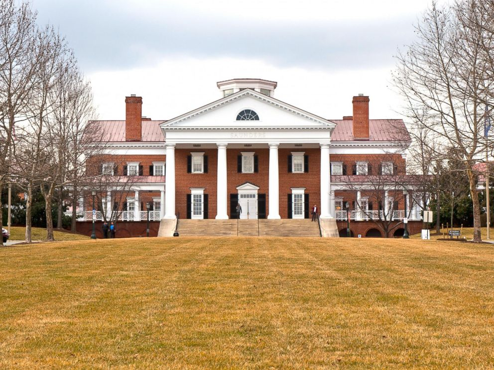 PHOTO: A view of Saunders Hall on campus at the University of Virginia on Feb. 28, 2013 in Charlottesville, Virginia.