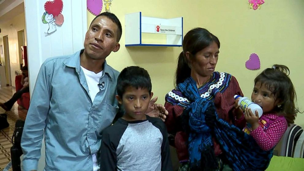 PHOTO: Samuel arrived at a Michigan foster care home in October after he and his father crossed the border in Arizona.
