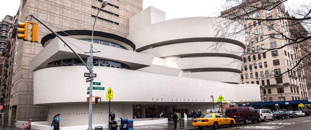 PHOTO: The Guggenheim Museum in New York.