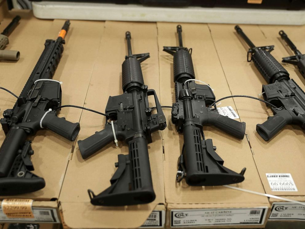 Zip Tie Gun >> Gun show bans AR-15s, rifle auctions in the wake of Las ...
